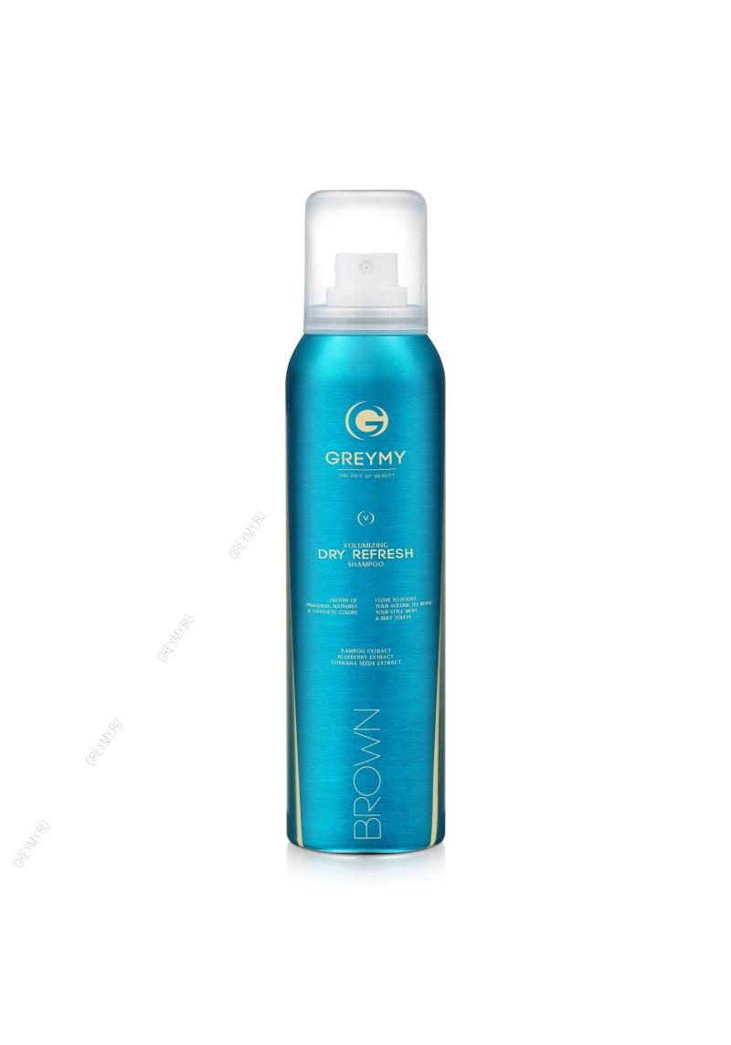 Greymy Volumizing Dry Refresh Shampoo Brown