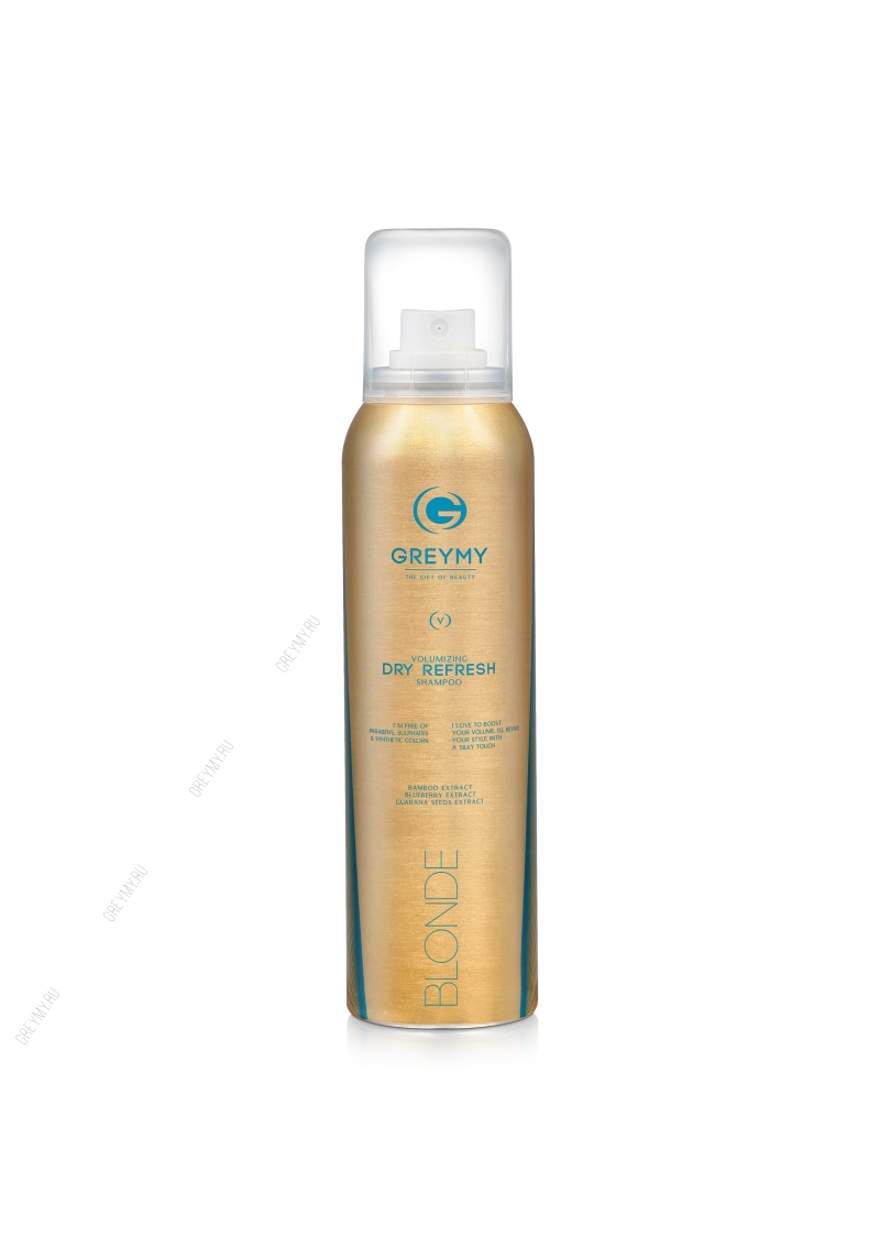 Greymy Volumizing Dry Refresh Shampoo Blonde